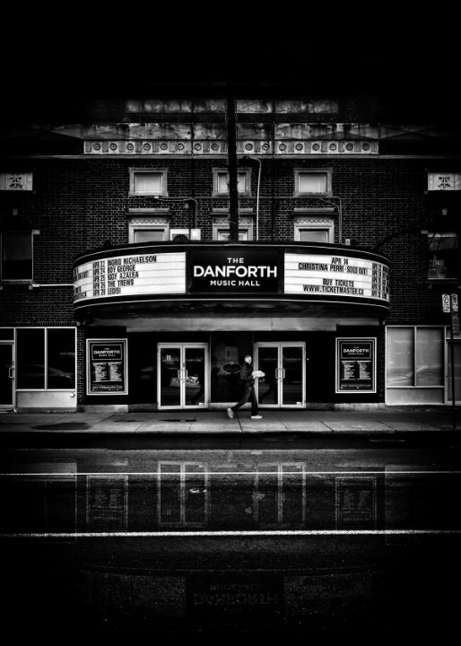 Danforth Music Hall No 1 Reflection - The Learning Curve Photography