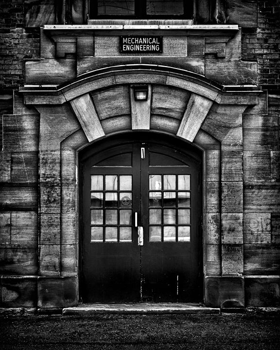 Mechanical Engineering Building - The Learning Curve Photography
