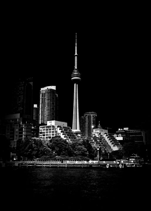 CN Tower From Bathurst Quay - The Learning Curve Photography
