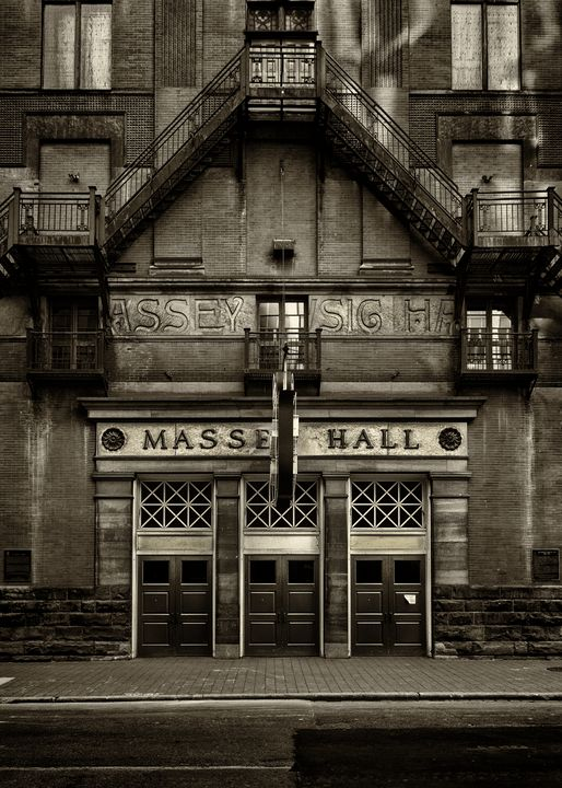 Massey Hall No 1 Toned Version - The Learning Curve Photography