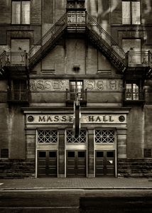 Massey Hall No 1 Toned Version