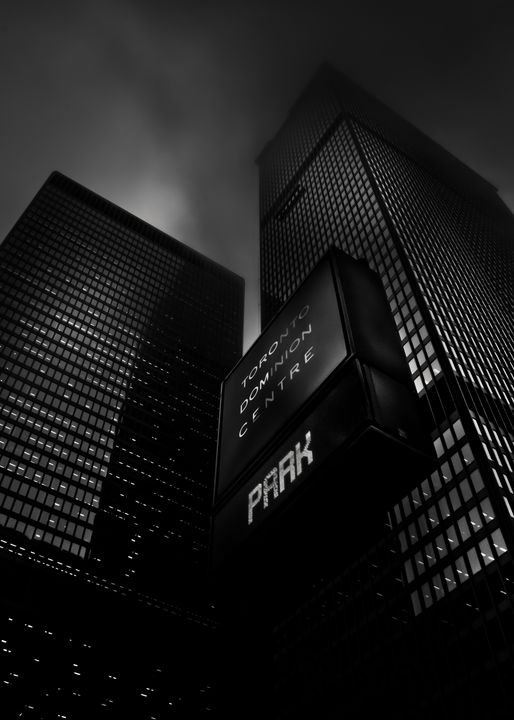 Downtown Toronto Fogfest No 16 - The Learning Curve Photography