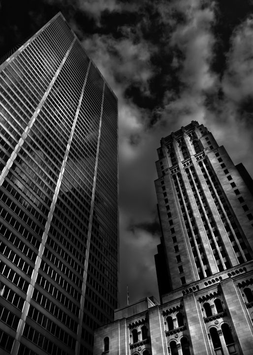 Commerce Court Courtyard View No 1 - The Learning Curve Photography