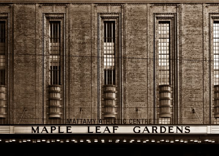 Maple Leaf Gardens - The Learning Curve Photography