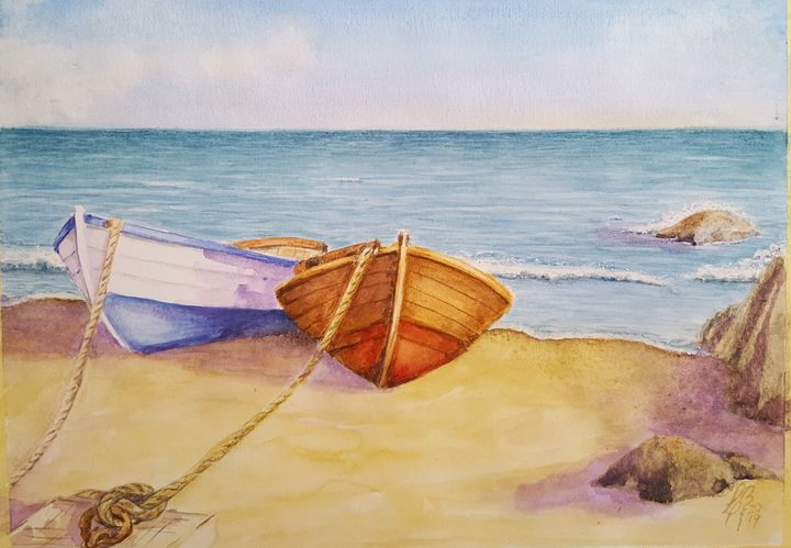 Dos botes - Liliana Blarasin