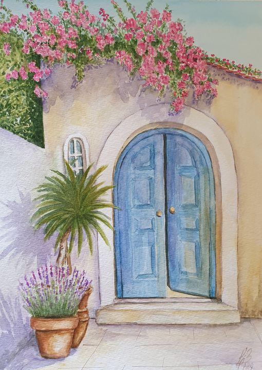 Puerta 1 - Liliana Blarasin