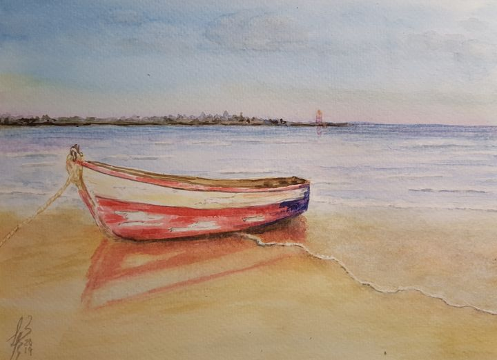 Un bote - Liliana Blarasin