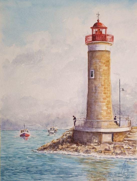 Faro de Saint Tropez, Francia - Liliana Blarasin
