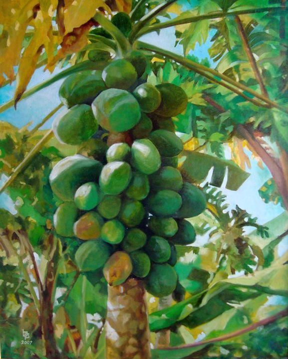 Papaya - Bong Perez Art Gallery