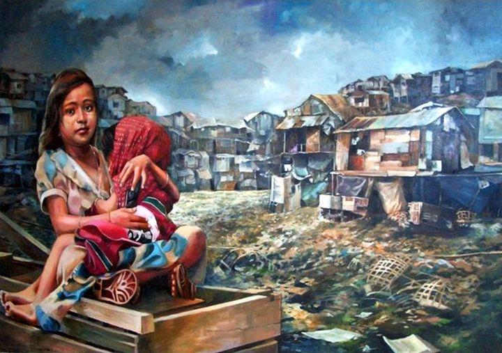 Indigent Life - Bong Perez Art Gallery