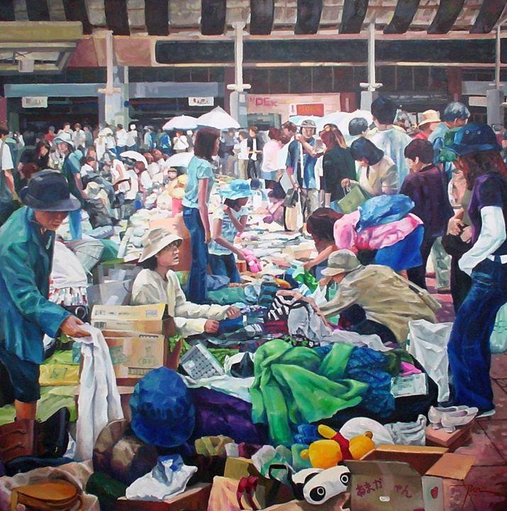 Ukay Ukay (Flea Market) - Bong Perez Art Gallery
