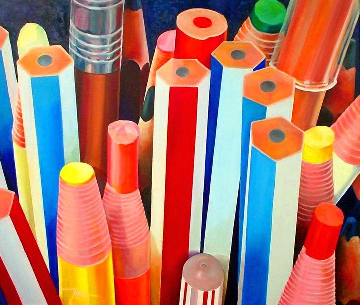 Pencils - Bong Perez Art Gallery