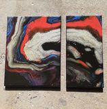 Original painting 2 piece set