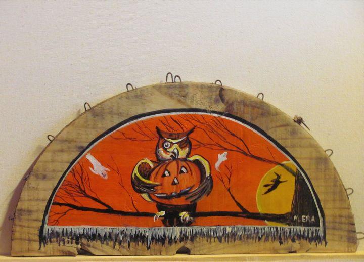 """""""Halloween Hoot"""" - Basketbottoms"""