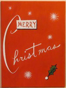 Merry Christmas (retro)