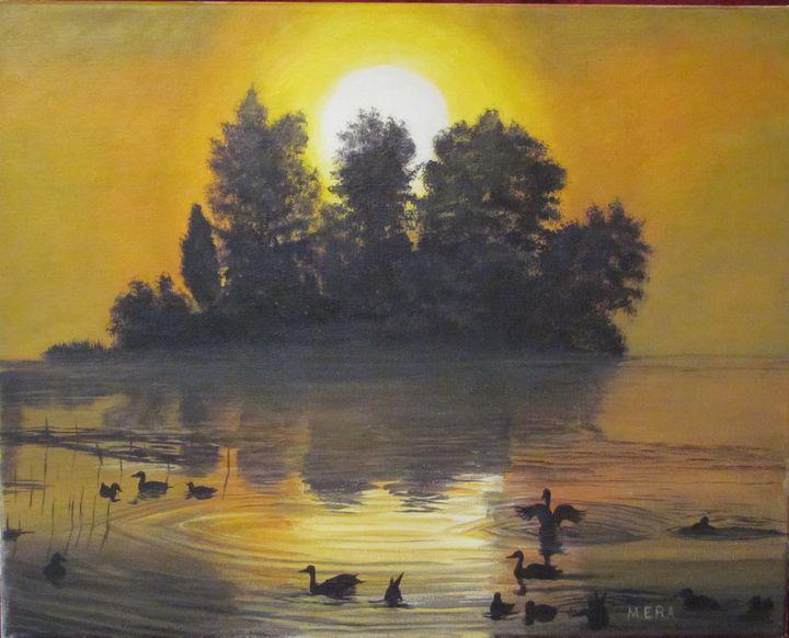Golden Sunrise - Basketbottoms
