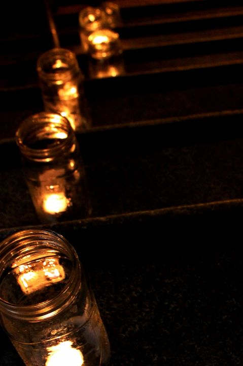 Candle Stairs - Photography