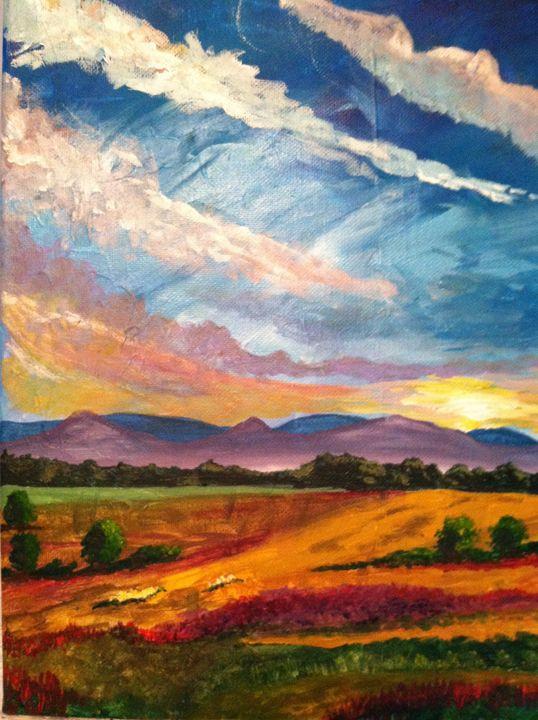 Golden Field - Jody V. Art