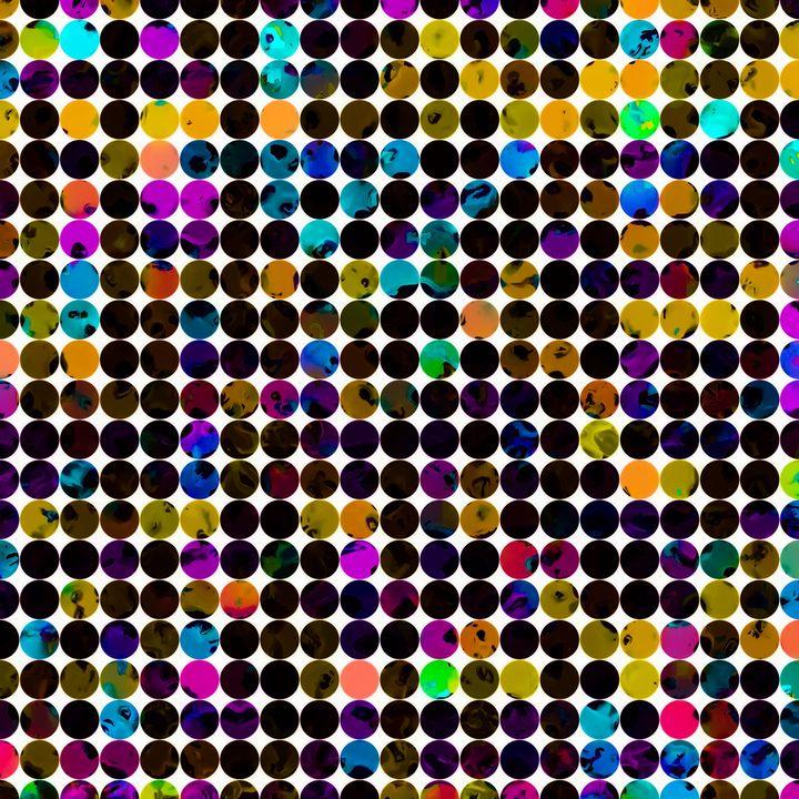 colorful circle pattern abstract - TimmyLA