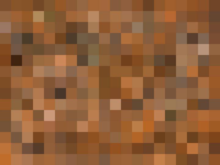 brown geometric square pixel pattern - TimmyLA