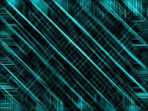 blue geometric line pattern abstract