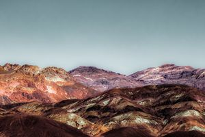 colorful mountain at Death Valley