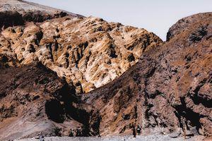 Desert mountain at Death Valley