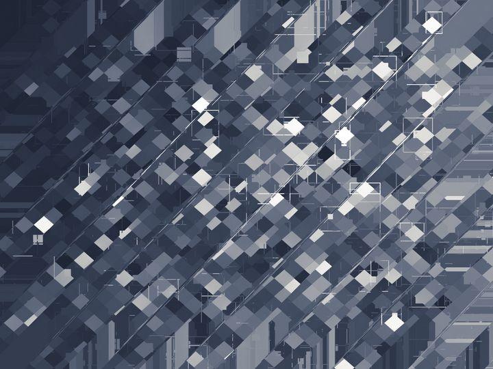 square pixel pattern abstract - TimmyLA