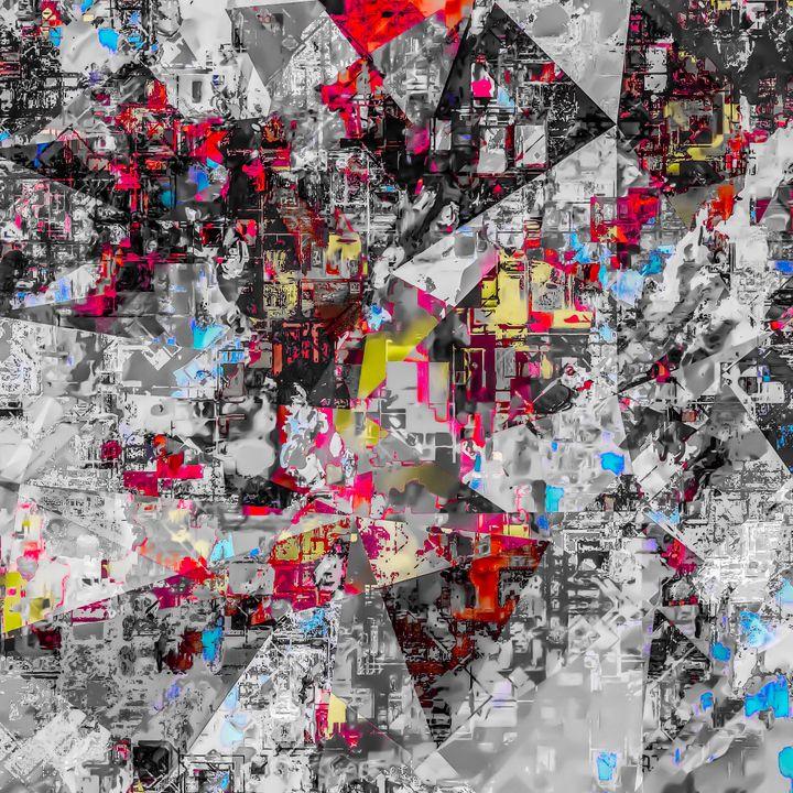 geometric triangle abstract - TimmyLA