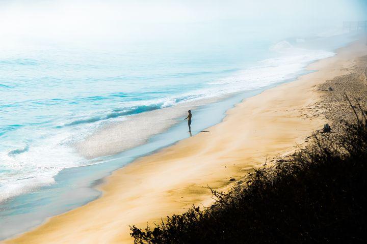 sandy beach and blue ocean - TimmyLA