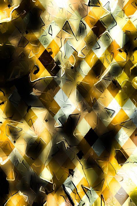 geometric pixel pattern abstract art - TimmyLA