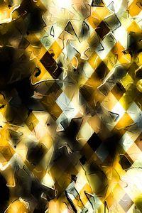 geometric pixel pattern abstract art
