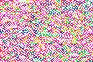 geometric pixel line pattern art