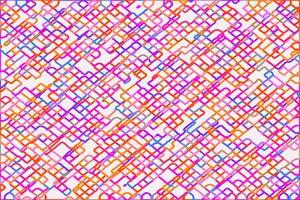 fractal geometric square pixel line