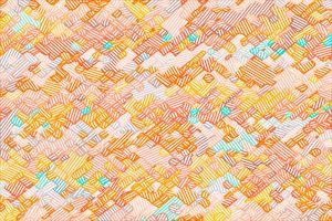 geometric square pixel line pattern