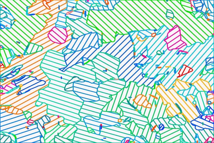 fractal geometric line abstract art - TimmyLA