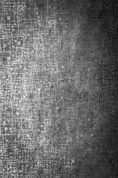 geometric square line pattern art - TimmyLA
