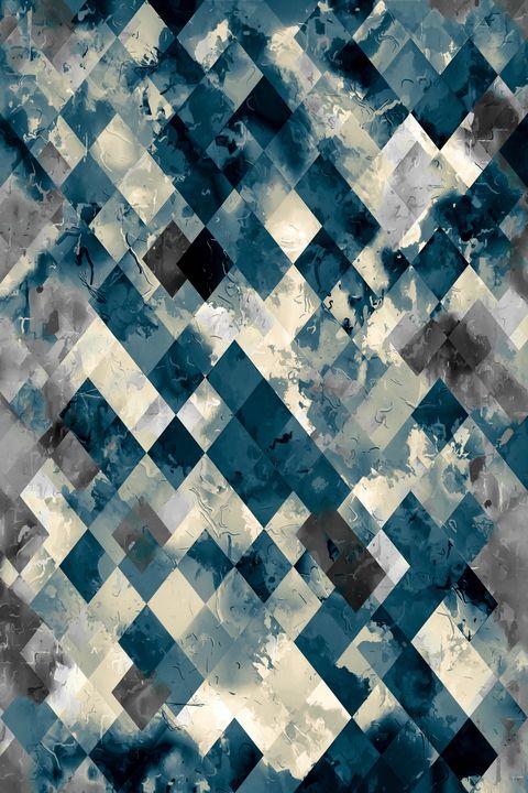 vintage geometric square pixel art - TimmyLA