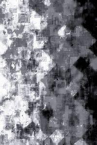 fractal geometric pixel pattern art