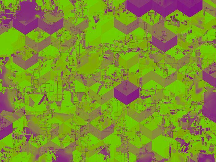 geometric square pattern abstract - TimmyLA