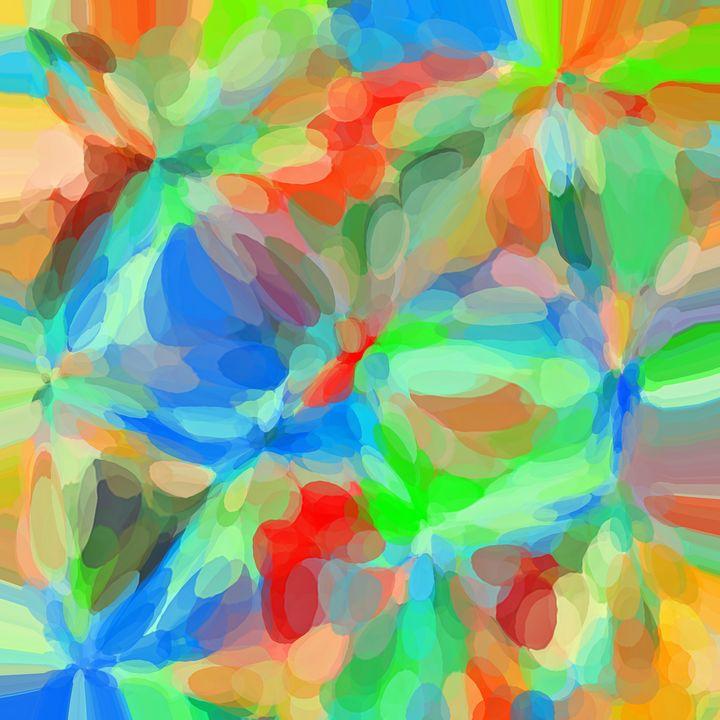 circle pattern abstract background - TimmyLA