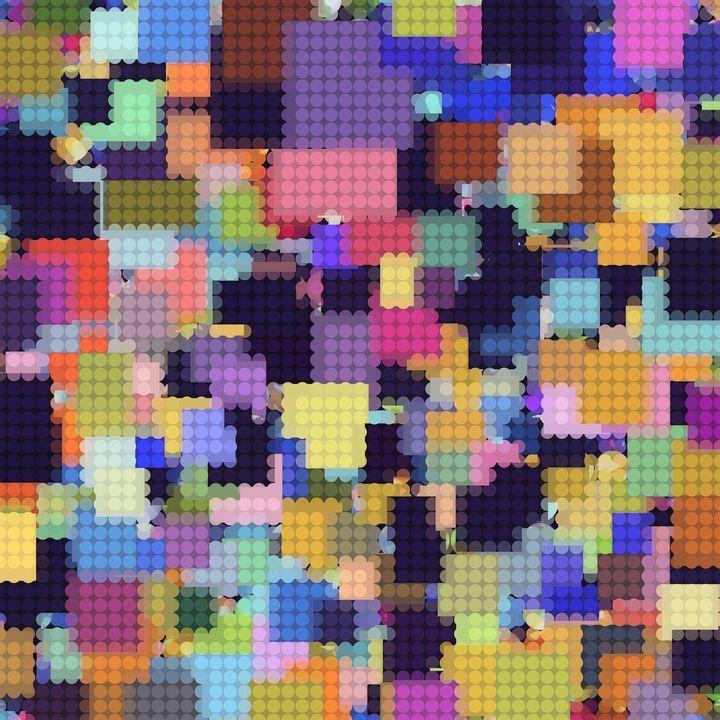 colorful geometric circle pattern - TimmyLA