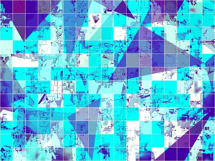 geometric triangle and square - TimmyLA