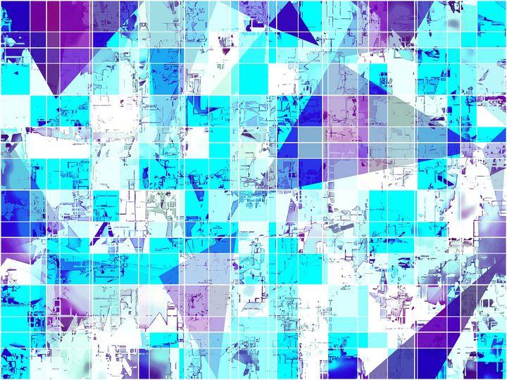 geometric square and triangle - TimmyLA