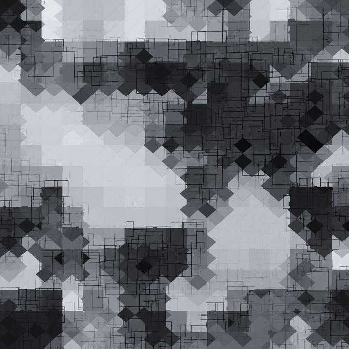 geometric square pixel pattern - TimmyLA