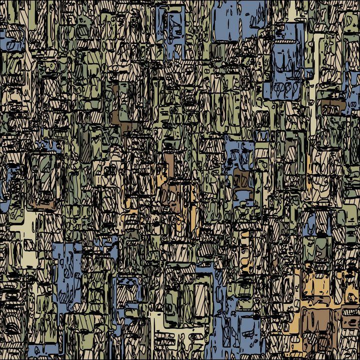 geometric abstract background - TimmyLA