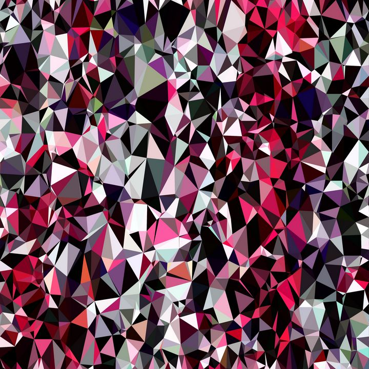 geometric triangle polygon pattern - TimmyLA