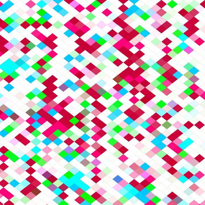 geometric pixel pattern abstact - TimmyLA