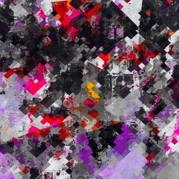 geometric pixel pattern abstract - TimmyLA