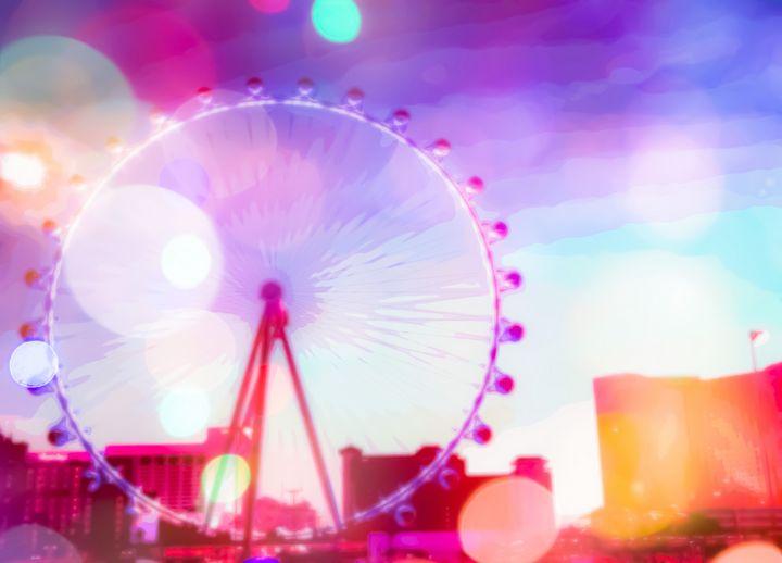 Ferris wheel in the city - TimmyLA